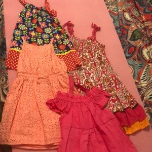 Other - 4 dresses - 2t